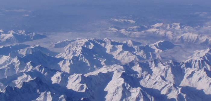 Klettern & Ski fahren: Über die Alpen per Ski