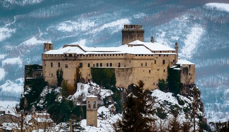 Fitness Urlaub Cervia im Winter heißt vor allem Skifahren im Apennin. Ein toller Kontrast zu den Stränden am Mittelmeer. (#03)