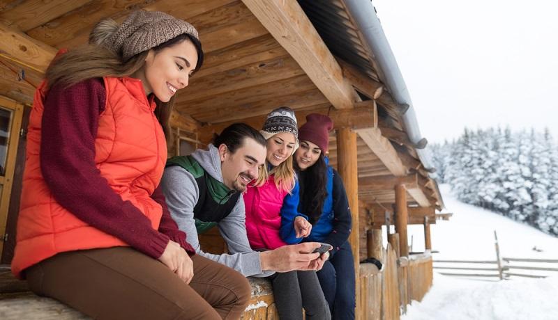 Wer gemeinsam in der Gruppe Wohnungen für den Skiurlaub mieten möchte, nimmt am besten gleich ein ganzes Haus. (#1)