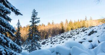 Schnee in der Auvergne: Skifahren & mehr