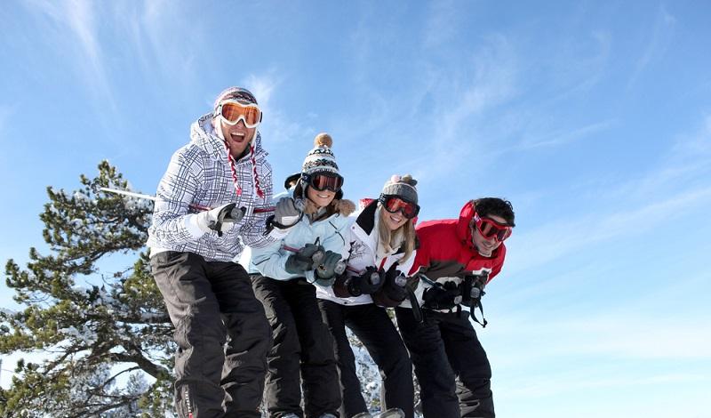 Die Freude und nicht die Verbissenheit sollte beim Skifahren im Vordergrund stehen. (#1)